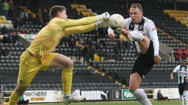 Notts County v Eastleigh in the National League