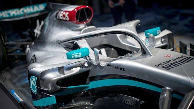 Mercedes W11 F1 car