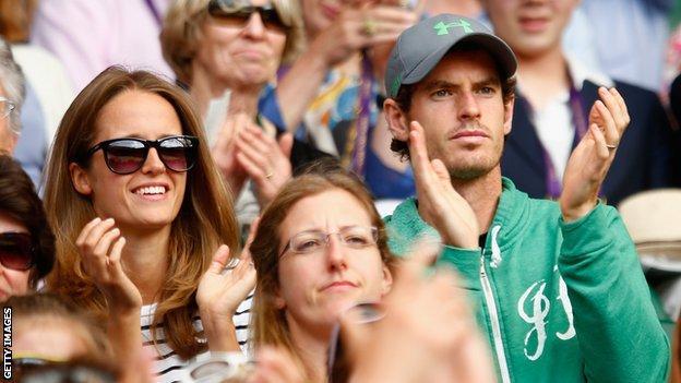 Kim and Andy Murray