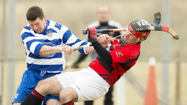 Newtonmore were far too strong for Glenurquhart