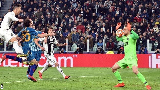 Ronaldo scores first goal