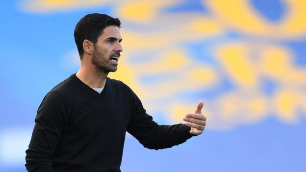 Arsenal loss at Brighton 'unacceptable' says Mikel Arteta thumbnail