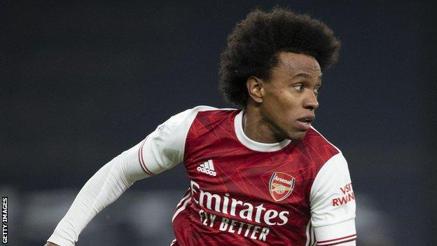Willian joined Arsenal on a three-year deal last summer