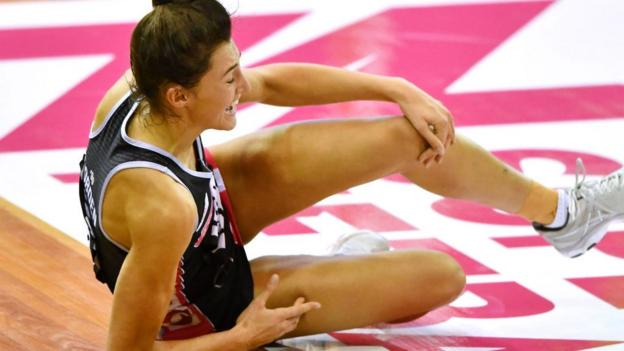 Netball World Cup: England's Beth Cobden to miss tournament with knee injury thumbnail