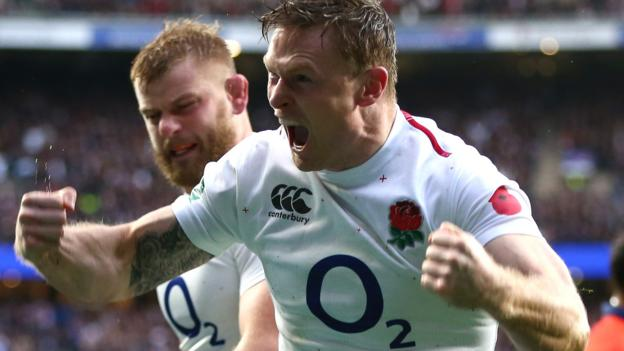 England v France: Chris Ashton replaces Jack Nowell for Six Nations game thumbnail