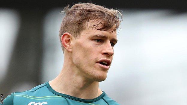Ireland winger Andrew Trimble