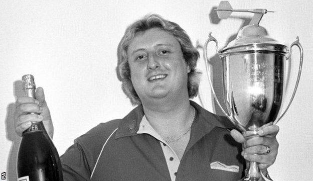 Eric Bristow in 1984