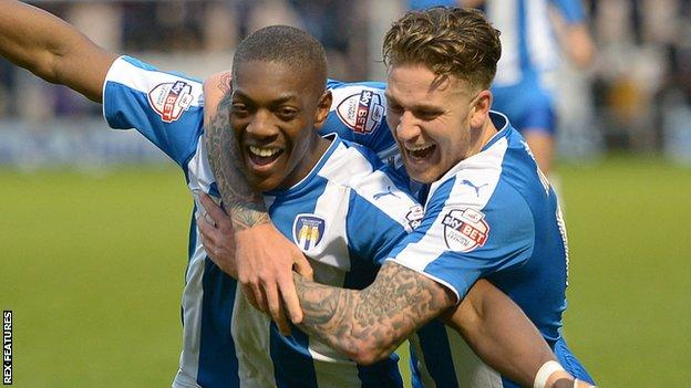 Marvin Sordell and George Moncur
