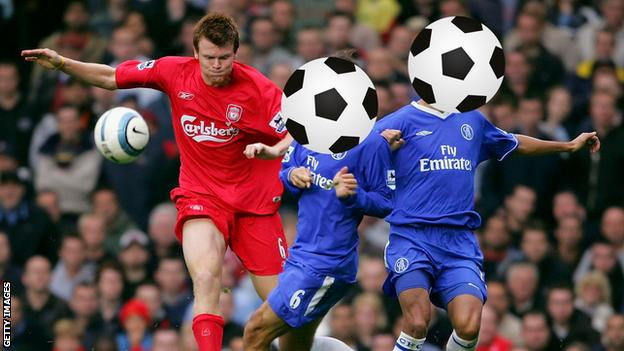 Two Portuguese Chelsea players with their faces hidden