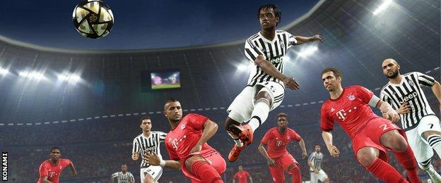 Pro Evo Soccer 2016 Screenshot