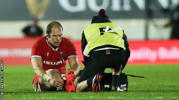 Wales captain Alun Wyn Jones has won 143 caps for Wales and played nine Tests for the British and Irish Lions