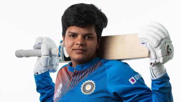 The 16-year-old 'rock star' standing between England and T20 World Cup final