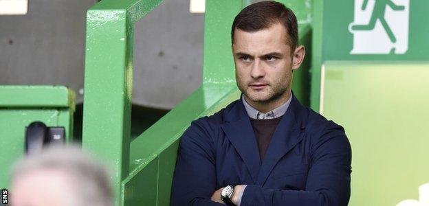 Shaun Maloney watched Celtic against Rosenborg