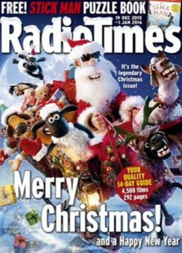 Christmas issue of Radio Times