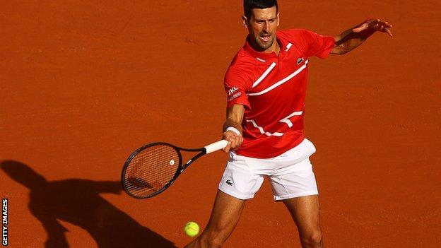 French Open 2020 Novak Djokovic Reaches Third Round With Ruthless Win Bbc Sport