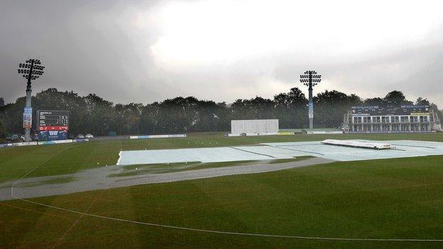sports Rain at Canterbury