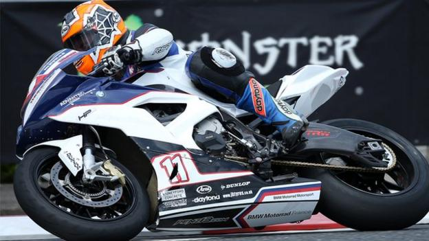Stephen Thompson targets race return despite losing arm