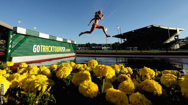 The American city of Eugene has had a long association with athletics