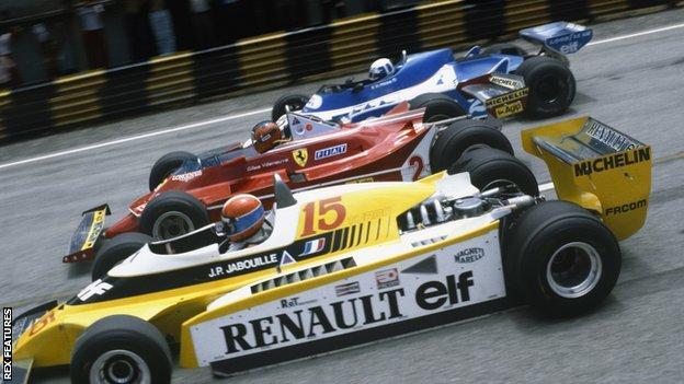 Brazilian GP 1980 start