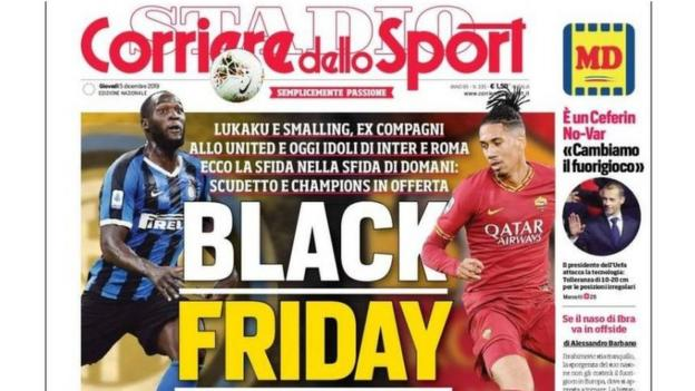 Romelu Lukaku & Chris Smalling: 'Black Friday' headline 'terrible' - Roma thumbnail