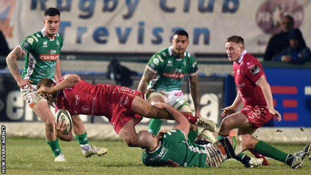 Scarlets are stopped by strong Benetton defence