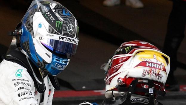 Valtteri Bottas beats Lewis Hamilton to Azerbaijan win thumbnail