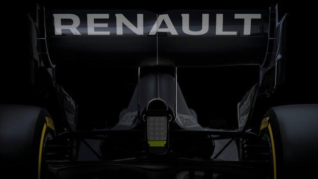 RS20 Renault F1 Car
