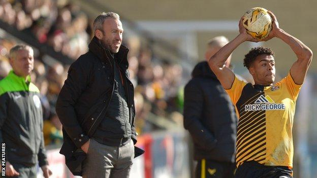 Shaun Derry and Darnell Furlong