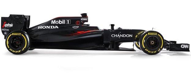 McLaren-Honda's MP4-31