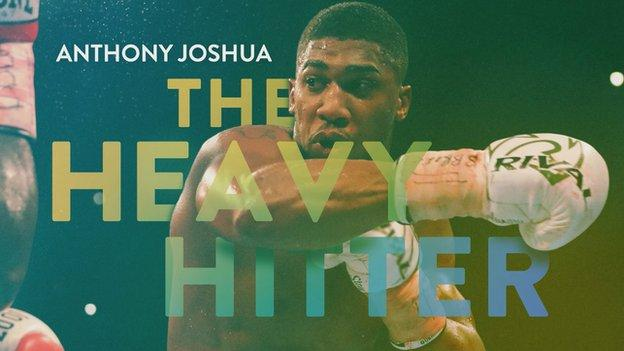'Unbelievable progress' - Sports Personality contender Anthony Joshua