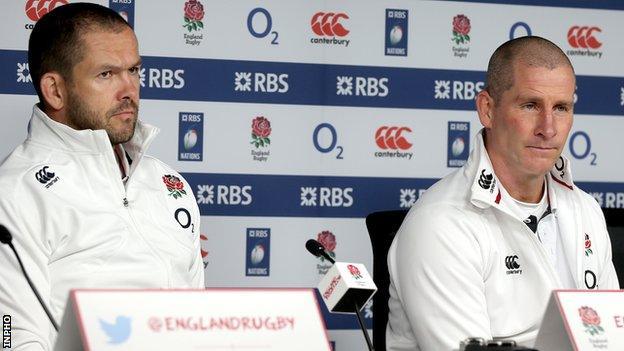Andy Farrell and Stuart Lancaster