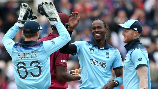 Joe Root hits ton as England beat West Indies in Cricket World Cup thumbnail
