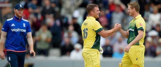 Aaron Finch and George Bailey put on 109 runs to see Australia to a comfortable victory