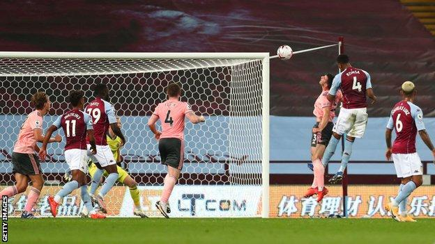 Ezri Konsa goal for Aston Villa