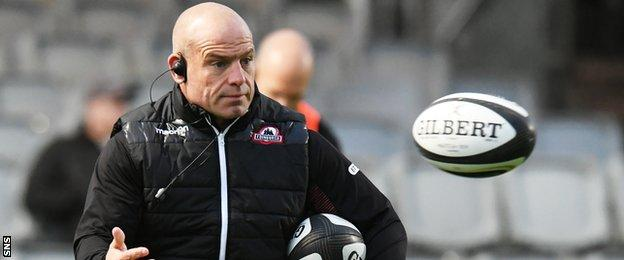 Edinburgh coach Richard Cockerill