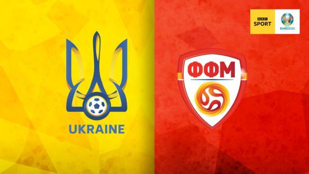 Ukraine v North Macedonia