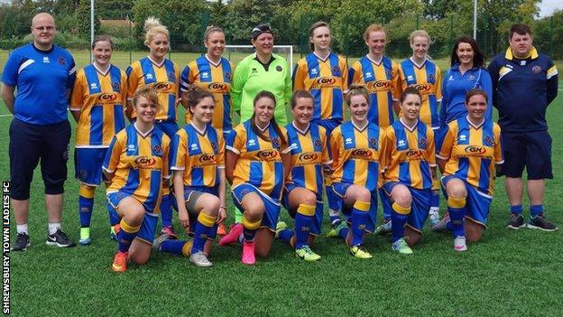 Shrewsbury Town Ladies