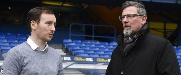 Ian Cathro and Craig Levein