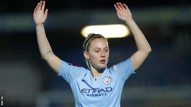Manchester City Women midfielder Keira Walsh