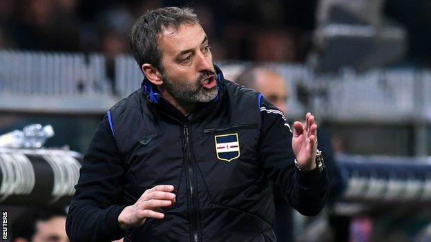 Ac Milan Marco Giampaolo Appointed New Head Coach Bbc Sport