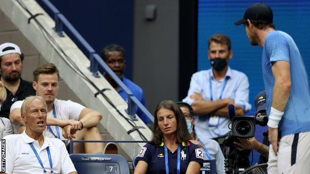 US Open 2021: Andy Murray 'lost respect' for Stefanos Tsitsipas after  bathroom row - BBC Sport