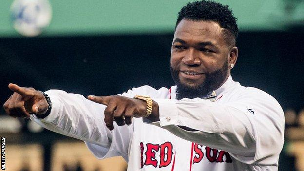 Former Boston Red Sox star David Ortiz