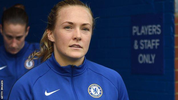 Chelsea Women's captain Magdalena Eriksson