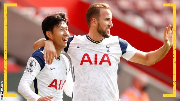 sports Son Heung-min and Harry Kane