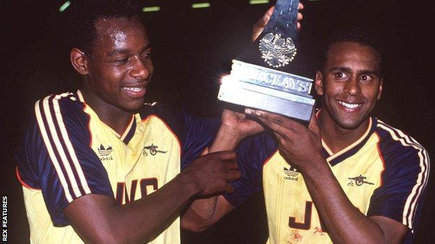 Michael Thomas and David Rocastle