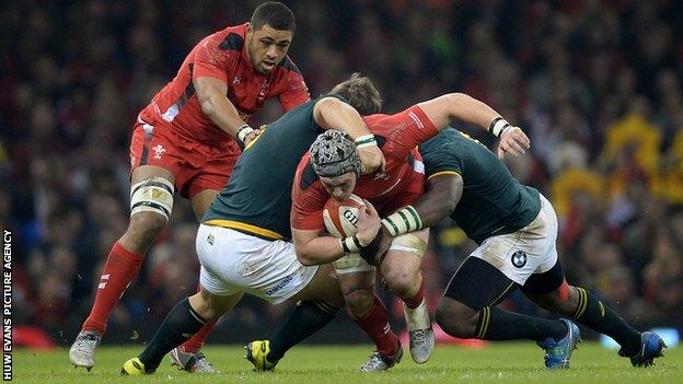 Wales' Taulupe Faletau and Dan Lydiate will again be key against South Africa