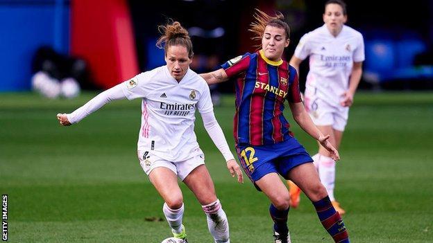 Γυναίκες της Ρεάλ Μαδρίτης εναντίον της Βαρκελώνης
