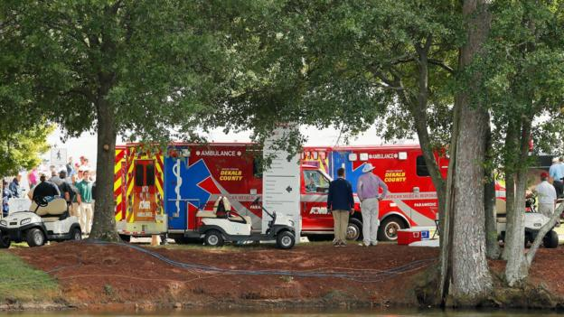 Tour Championship: Fans injured by lightning strike at PGA Tour finale thumbnail