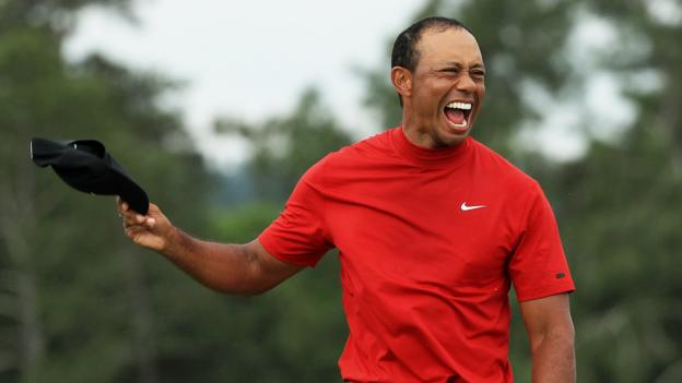 Tiger Woods: Masters win follows career doubts and changes children's perspective thumbnail