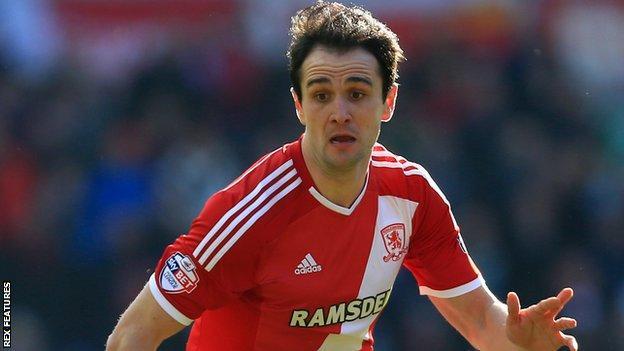 Middlesbrough striker Kike